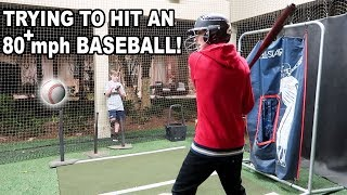 PLAYING WITH AN ACTUAL BASEBALL PLAYER!!