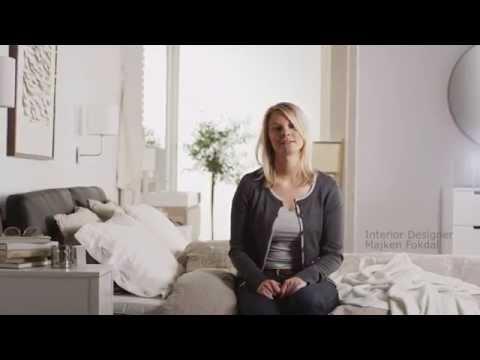 IKEA: Calm and serene bedroom