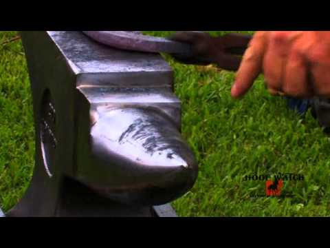 Grant Moon Forging and Horseshoeing Clinic 1  Emerson Horseshoe Supply 2009