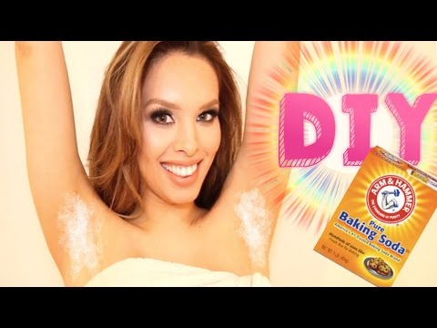DIY Armpit MASK! How to Lighten Dark Underarms At Home | AlexandrasGirlyTalk