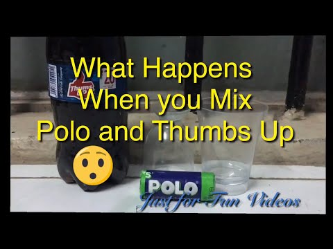What happens when you  mix Thumbs up and Polo