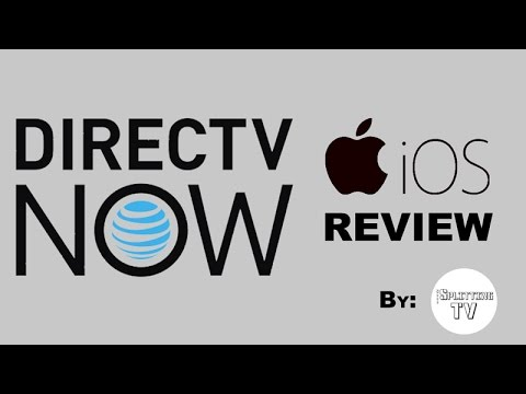 DirecTV Now - iOS App Customer Review and Full Overview