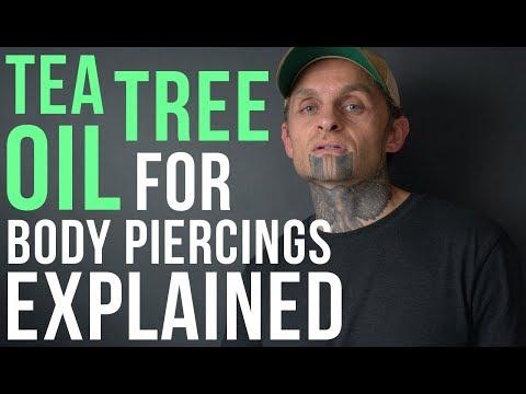 Tea Tree Oil for Body Piercings Explained | UrbanBodyJewelry.com