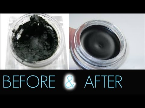 How to get rid of dry gel liner| FAST !!!
