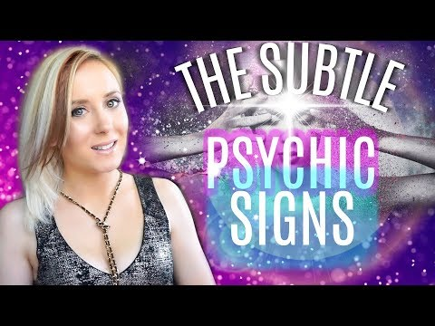 SIGNS THAT YOU'RE A PSYCHIC MEDIUM