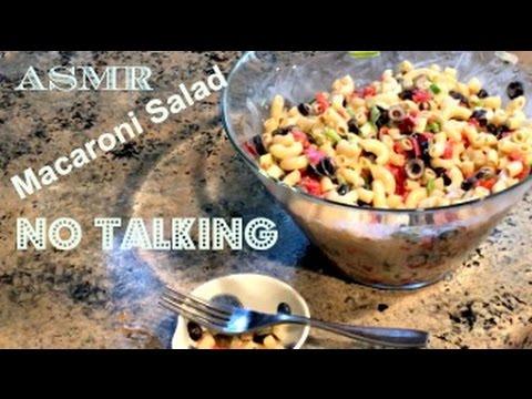 ASMR Cooking - Macaroni Salad - No Talking
