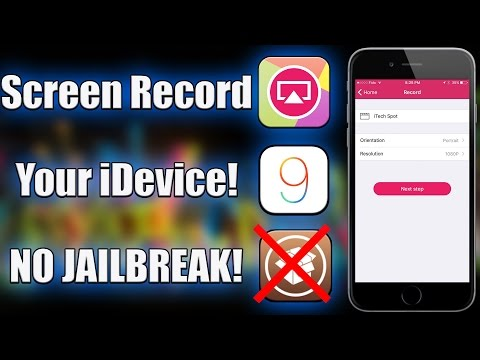 How To Screen Record iOS 9 Without a Jailbreak! (AirShou)