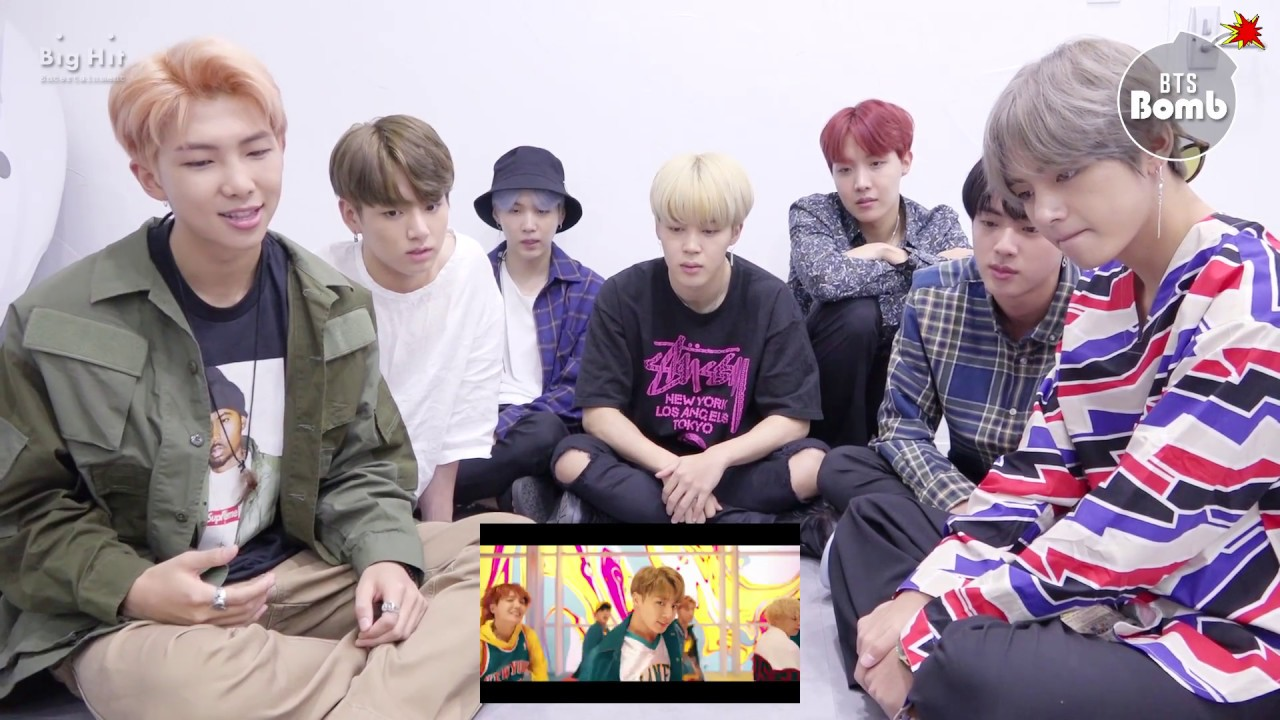[BANGTAN BOMB] BTS 'DNA' MV REAL reaction @6:00PM (170918) - BTS (방탄소년단)