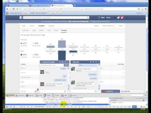 how to change facebook conversation (chat)
