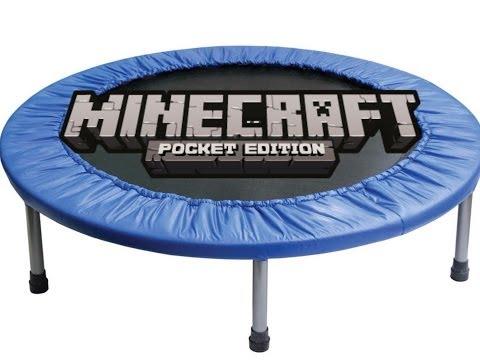 ✔ Working Trampoline - Minecraft PE