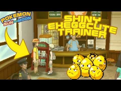 This Trainer Has A Shiny! Pokemon Sun & Moon Easter Egg! How to get Draco Meteor & Dragon Ascent!