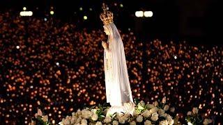 Récita Do Santo Terço Em Honra à Virgem De Fátima