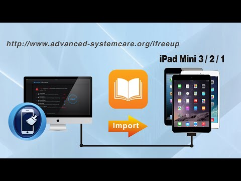 How to Import Books to iPad Mini 4/3/2/1 from Computer, Copy Books to iPad Mini by iFreeUp