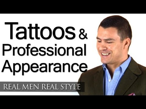 Tattoos & Professional Business Appearance - Be Wary Of The Message Tattoos Can Send At Work