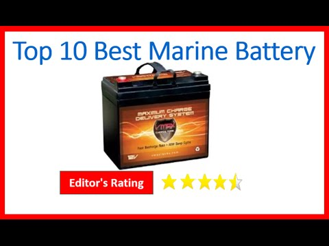 Top 10 Best Marine Battery Review 2016