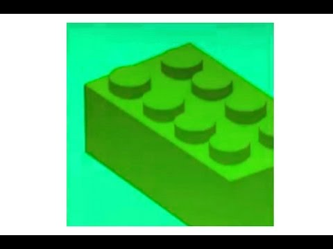 Black Ops 2 emblem - Green Lego Block