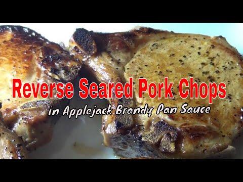 Reverse Seared Pork Chops