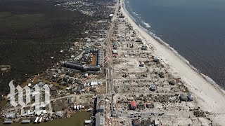 Devastation from above: Michael leaves Mexico Beach in shreds