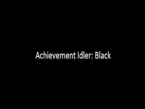 Achievement Idler Black    5000/5000 Steam Achievements