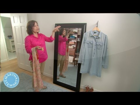 How to Create an Instant Dressing Room - Martha Stewart