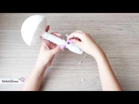 DIY bead bouquet