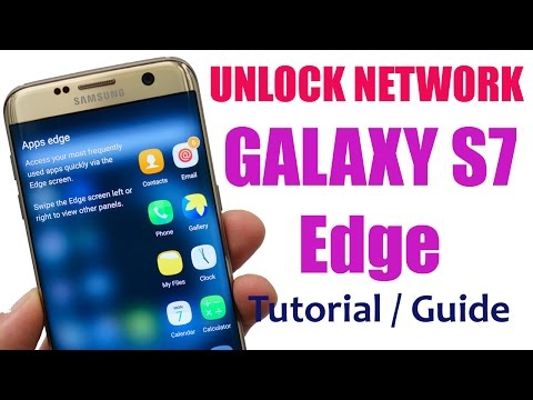 How to Unlock Samsung Galaxy S7 Edge (SM-G935) Network Guide and Tutorial