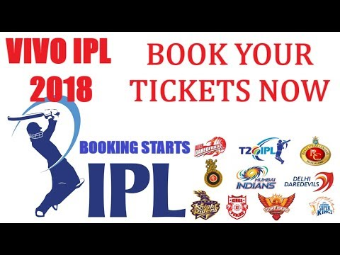 VIVO IPL 2018 Tickets Booking. Book Your Tickets Now. Bookmyshow