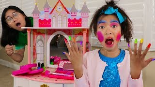 Download Wendy Pretend Play Dress Up & New Kids Make Up Toys Video