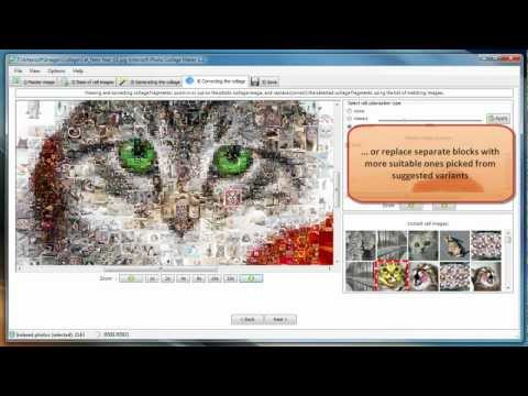 Artensoft Photo Collage Maker (previous version) - Video tutorial