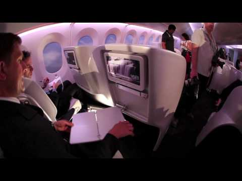 Air New Zealand's innovative Premium Economy seating