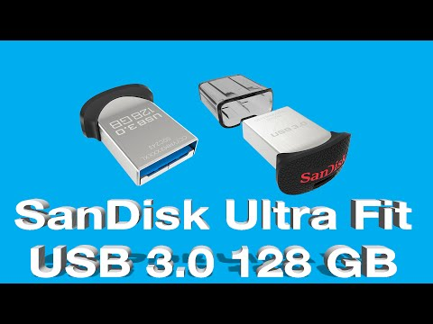 SanDisk Ultra Fit 128GB USB 3.0 Flash Drive - Unboxing, Speed Test, and Review