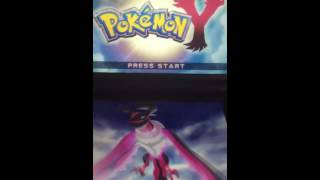 How To Restart Your Pokemon X Or Y Game