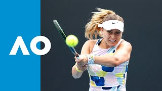 Paula Badosa vs Johanna Larsson   Australian Open 2020 R1