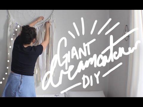 Giant Dream Catcher DIY