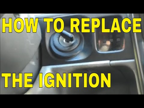 HOW TO, REPLACE AN IGNITION LOCK CYLINDER 03 TACOMA