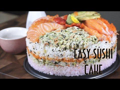 Easy Sushi Cake