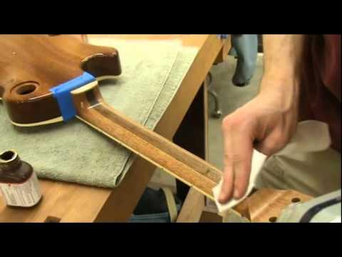 Luthier Tips du Jour - Tru oil