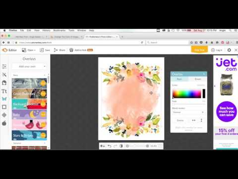 How to Create Printable Artwork In Picmonkey Using Angie Makes Clip Art