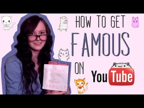 How to Get Famous on YouTube (FAST & EASY!)