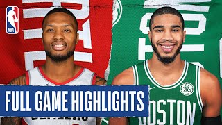 TRAIL BLAZERS at CELTICS | FULL GAME HIGHLIGHTS | August 2, 2020