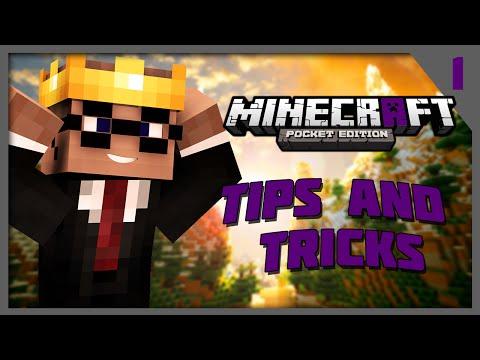 How to Break Bedrock - Minecraft PE Tips and Tricks Ep. 1