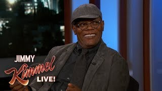 Samuel L. Jackson on Playing a Young Nick Fury in Captain Marvel