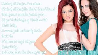 Ariana Grande - Santa Baby Ft. Elizabeth Gillies (Lyrics) ♡