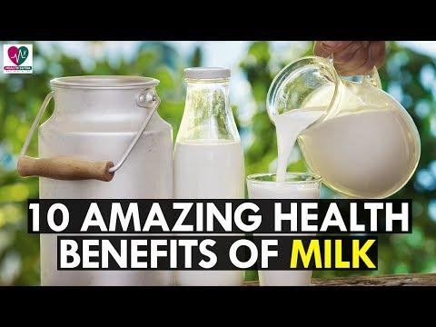 10 Incredible Health Benefits of Milk