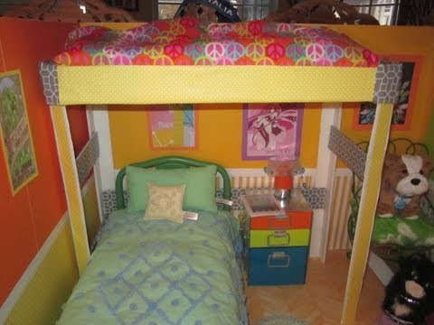 HTM Loft Bed for your AG Dolls