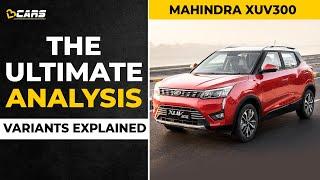 2021 Mahindra XUV300 Variants Explained   W4, W6, W8, W8 Optional   The Ultimate Analysis   February