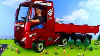 Police Cars, Crane, Garbage Trucks & Excavator Toy Vehicles Play for Kids