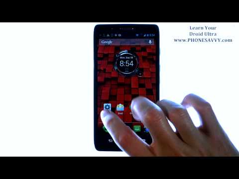 Motorola Droid Ultra - How Do I Setup My Email or Add Additional Email Accounts