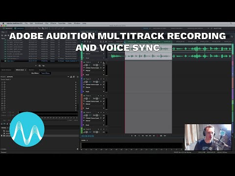 Adobe Audition Multitrack Recording and Voice Sync