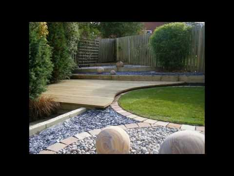 Garden gravel designs For small space